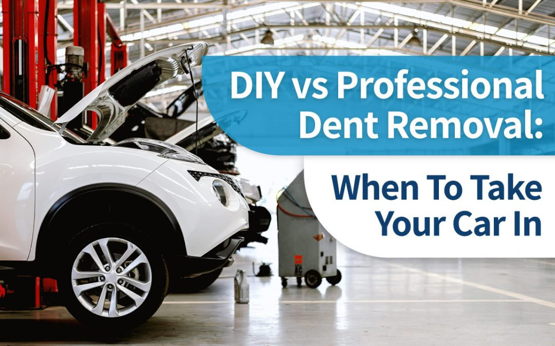 DIY vs Professional Dent Removal: When To Take Your Car In