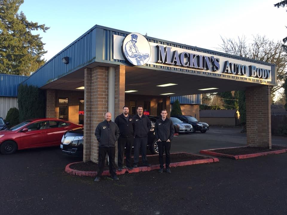mackins auto body best collision repair shop
