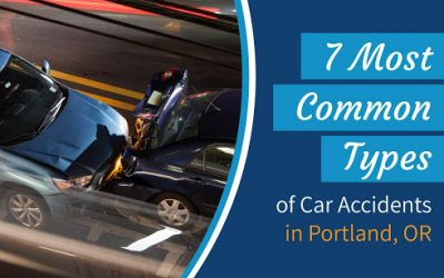 7 Most Common Types of Car Accidents in Portland, OR